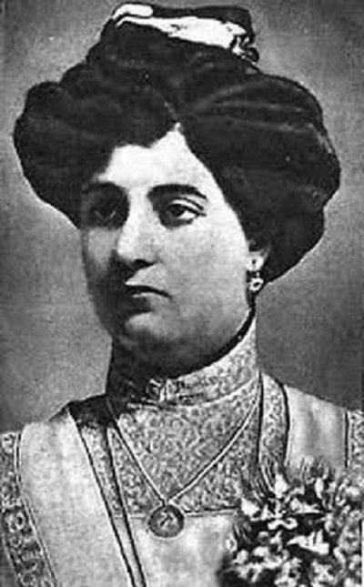 Rosalía Abreu. Photo: Biblioteca.uh.cu