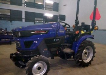 Tractores eléctricos importados por el gobierno cubano con destino a la agricultura de la Isla. Foto: minag.gob.cu