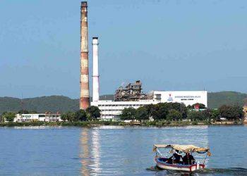 Termoeléctrica Antonio Maceo (Renté), en Santiago de Cuba. Foto: ACN / Archivo.