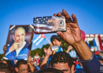 Desfile por el primero de mayo en la plaza de La Revolución de La Habana (Archivo) Foto: Kaloian Santos