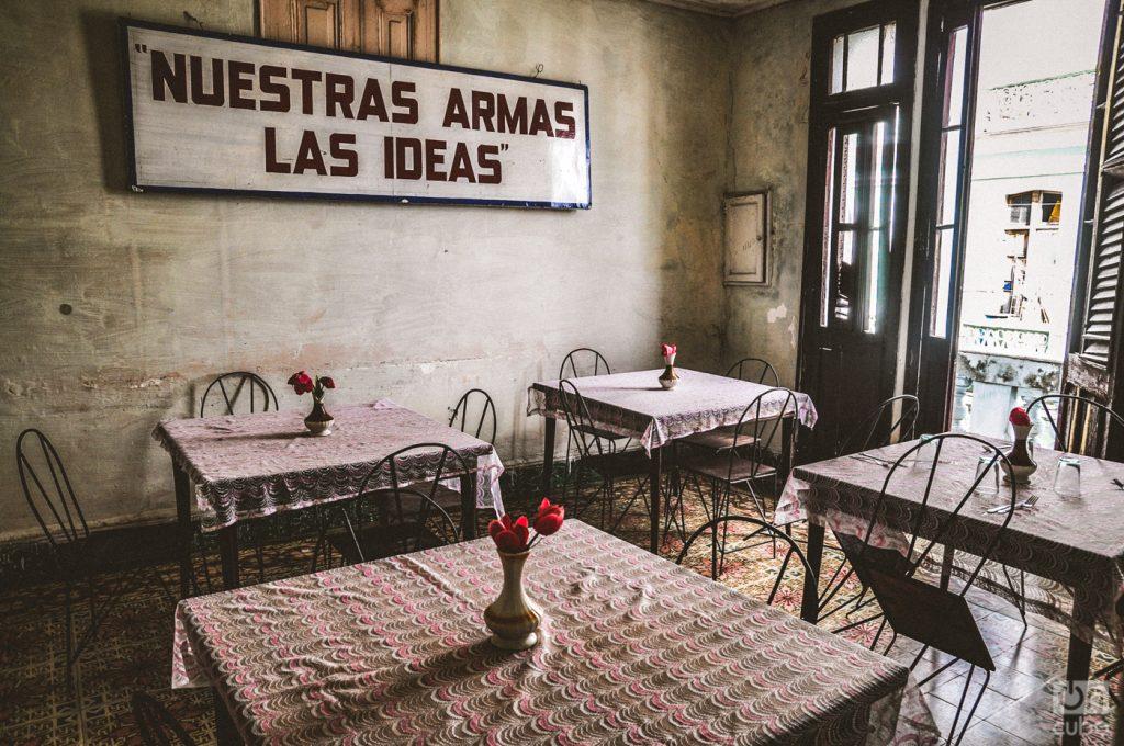 A workers' dining room in Cienfuegos. Photo: Kaloian Santos