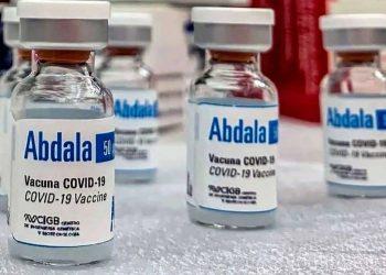 La vacuna cubana Abdala contra la COVID-19. Foto: Tele Cristal / Archivo.
