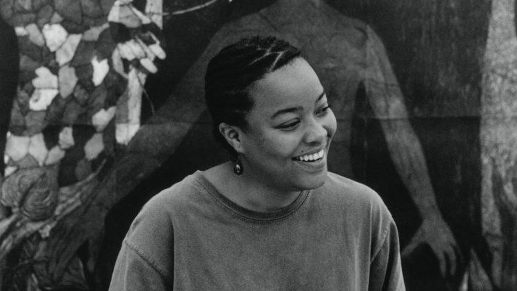 La artista y grabadora cubana Belkys Ayon (1967-1999). Foto: Los Angeles Times.