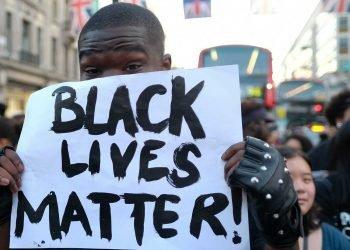 Manifestación del movimiento Black Lives Matter. Foto: Flickr vía esciupfnews.com / Archivo.