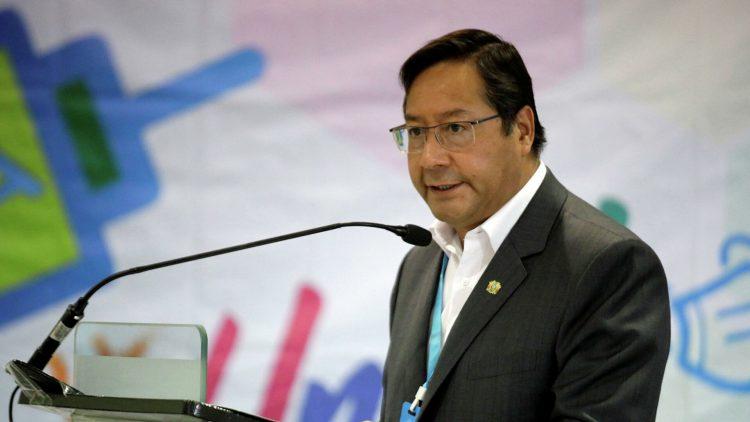 El presidente de Bolivia, Luis Arce. Foto: Sputnik Mundo.
