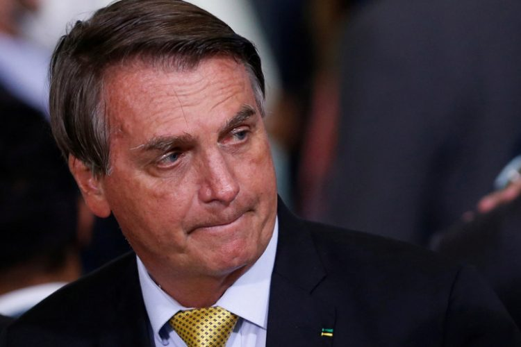 El presidente Jair Bolsonaro. Foto: Reuters.