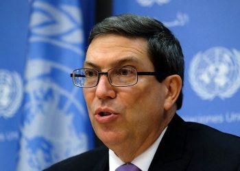 El canciller cubanoBruno Rodríguez Parrilla. Foto: Minrex.
