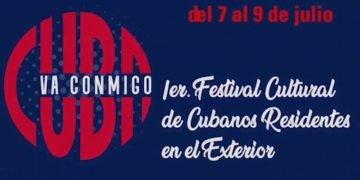 """Captura de pantalla de la transmisión en vivo de la Conferencia de Prensa sobre Festival """"Cuba va conmigo"""". Tomada del perfil en Facebook del Consulado General de Cuba en São Paulo, Brasil."""