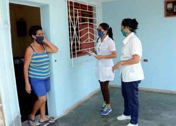 La pesquisa activa resulta fundamental para frenar contagios en Camagüey. Foto: acn.cu