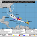 Gráfico del cono de posible trayectoria del huracán Elsa. Imagen: nhc.noaa.gov