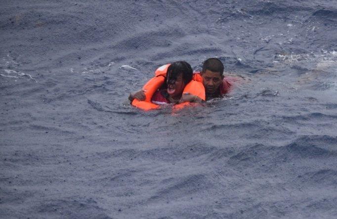 Tras 192 horas de búsqueda, la Guardia Costera de Estados Unidos suspendió este sábado las labores de localización de nueve baslseros cubanos desaparacidos 26 millas al sudeste de Key West. Foto: @USCGSoutheast