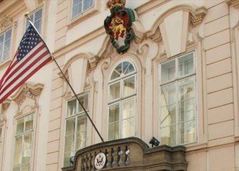 Embajada de Estados Unidos en Viena. Foto: HispanTV.