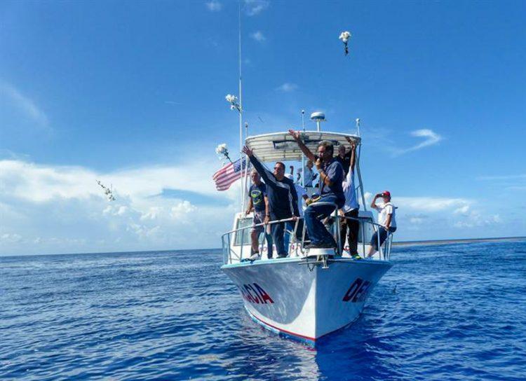 Foto de archivo de una flotilla del exilio cubano de Miami que zarpó a las costas de Cuba. EFE/Gastón de Cárdenas /Archivo.