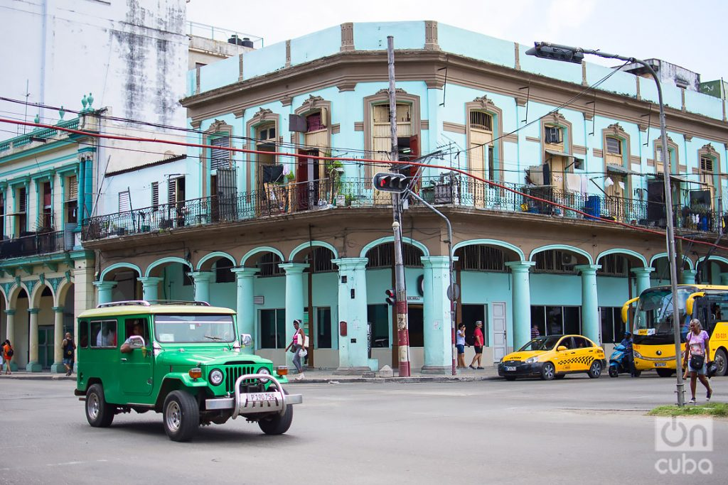 Belascoain and Reina streets. Photo: Otmaro Rodríguez