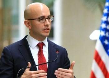 El director para el Hemisferio Occidental del Consejo de Seguridad de Biden, Juan González. Foto; AP.
