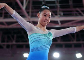 La gimnasta Kara Eaker. Foto: CNN.
