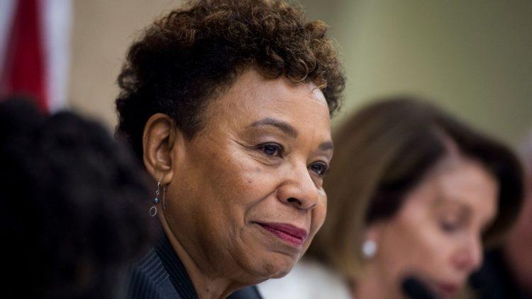 La congresista Bárbara Lee. Foto: Los Angeles Times.