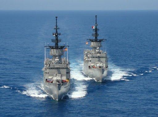 Buques de la Armada Mexicana. Foto: Toda Noticia.