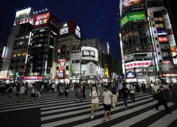 Tokio: pandemia y Juegos Olímpicos. Foto: AP