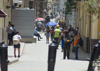 La Habana, domingo 12 de julio. Foto: Otmaro Rodríguez.
