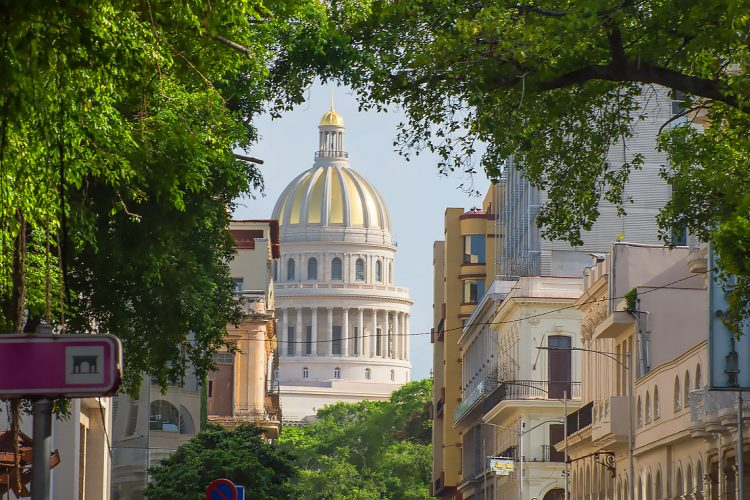 Vista del Capitolio de La Habana. Foto: Otmaro Rodríguez