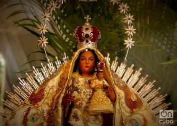 Virgen de la Caridad del Cobre, Patrona de Cuba. Foto: Rolando Pujols / Archivo.