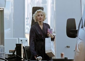 Ana de Armas, en Blonde. Foto: imdb.com