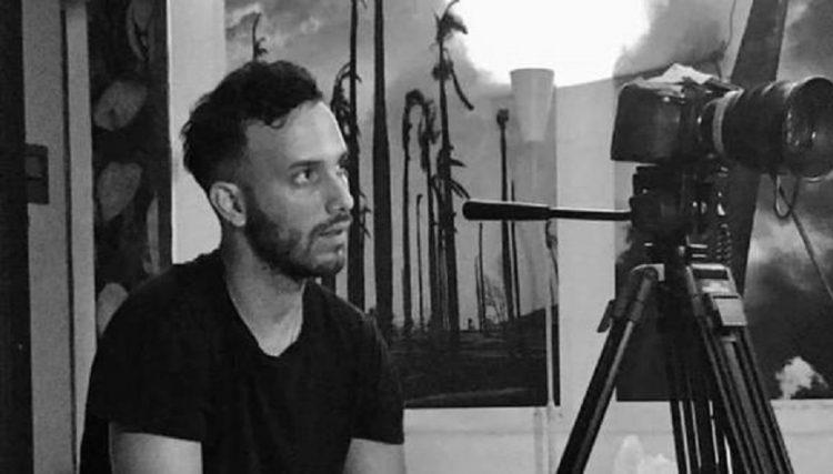 El realizador cubano Anyelo Troya, detenido durante las protestas del 11 de julio de 2021 en La Habana. Foto: elcomercio.pe / Archivo.