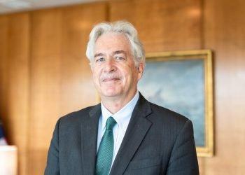 El director de la CIA, el exdiplomático William Burns. Foto: Ian Morton / NPR.