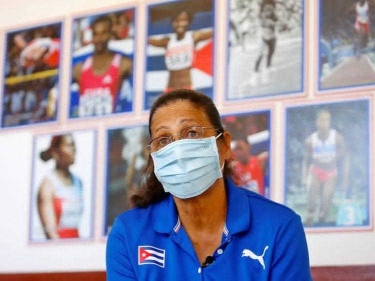 María Caridad Colón, primera mujer latinoamericana con un oro olímpico. Foto: Yander Zamora/EFE.