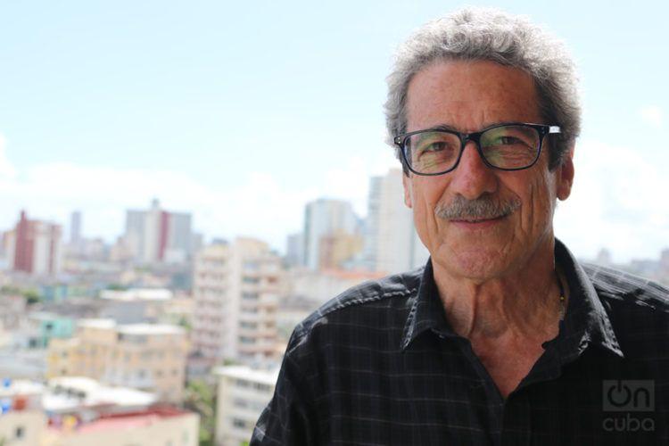 El cineasta cubano Fernando Pérez. Foto: Ismario Rodríguez.
