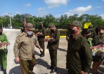 General de División y jefe del Ejército Oriental de Cuba, Agustín Peña. Foto: Ricardo Gual/Facebook.