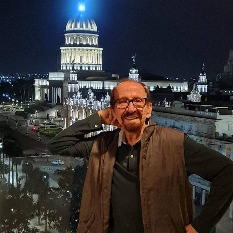 El exbailarín cubano Adolfo Roval, maitre del Ballet Nacional de Cuba y Premio Nacional de Danza, fallecido el 24 de julio de 2021 en La Habana. Foto: Perfil de Facebook del Ballet Nacional de Cuba.