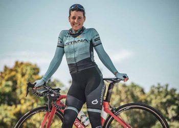 La estelar ciclista cubana Arlenis Sierra. Foto: Play-Off Magazine.