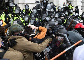 El asalto al Capitolio el pasado 6 de enero. Foto: The Daily Beast.