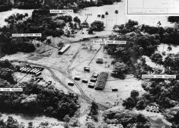 Crisis de los Misiles. Foto: tomada por un U2. Archivo.
