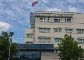 La Embajada de EEUU en Alemania. Foto: Lightfield Studios.