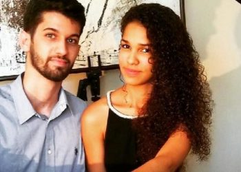 Los jóvenes pianistas cubanos Daniela Rivero y Eladio Hernández. Foto: Today in 24.