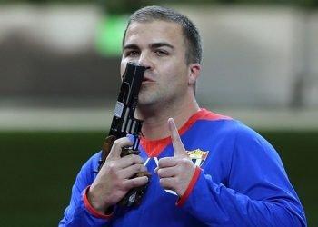El tirador cubano Leuris Pupo. Foto: Eurosport.