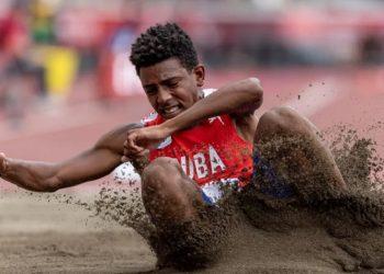 Robiel Yankiel Sol Cervantes, el primero oro cubano en los Paralímpicos de Tokio. Foto: olympics.com