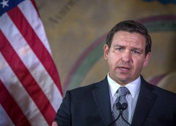 El gobernador de Florida (EE.UU.), Ron DeSantis. Foto: Giorgio Viera / EFE / Archivo.