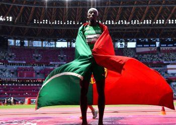 El triplista Pedro Pablo Pichardo se convirtió en el primer cubano en obterner un título olímpico compitiendo por otro país. Foto: Reuters.