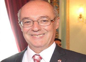 Bernardino Cano Radil, embajador de Paraguay en Cuba, falleció este domingo en la Isla a causa de complicaciones por la Covid-19. Foto: Tomada de La Nación.