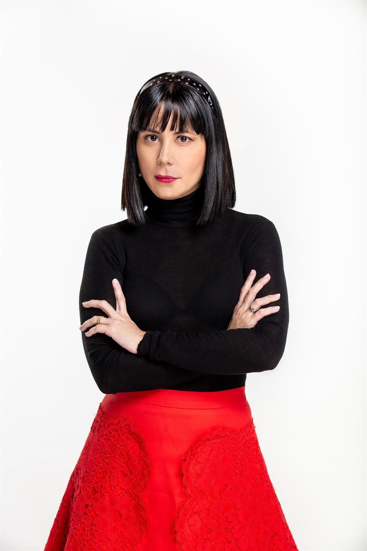 Fotografía cedida por CNN en Español donde aparece la escritora y poeta cubana Wendy Guerra. Foto: EFE/CNN en Español.
