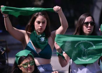 Manifestantes proaborto en México. Foto: The Guardian.
