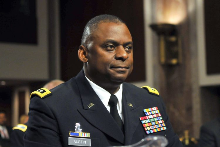 El secretario de Defensa de EEUU, Lloyd Austin. Foto: NPR.