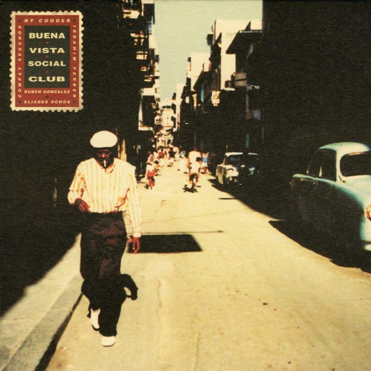 Una de las portadas legendarias del Buena Vista Social Club.