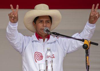 El presidente peruano Pedro Castillo. Foto: AFP.