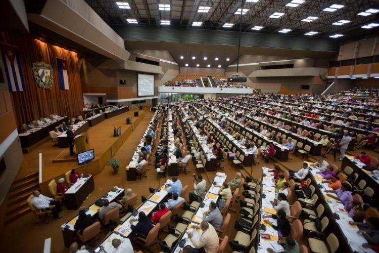 Asamblea Nacional del Poder Popular. Foto: ANPP.