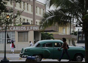 """El Hospital Militar """"Carlos J. Finlay"""". Foto: El Confidencial."""